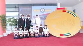 Abu Dhabi school races into the record books with 450kg gold medal