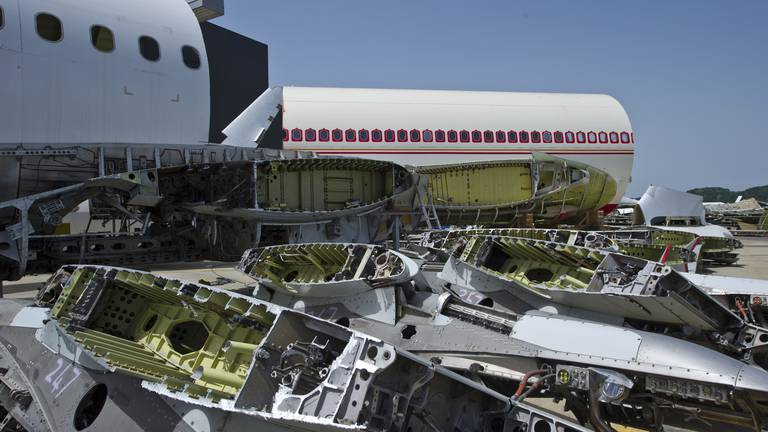 An image that illustrates this article Aircraft recycling set to boom as Covid-19 pandemic forces airlines to retire jets
