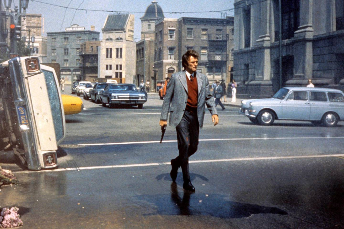 Clint Eastwood in Dirty Harry. Courtesy Warner Bros Entertainment