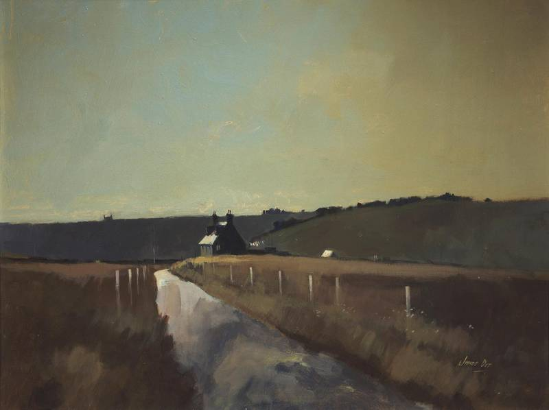 Morning Light, Banffshire, 1979–84, by James Orr, purchased by Her Majesty The Queen and Prince Philip, 1984. Courtesy Royal Collection Trust