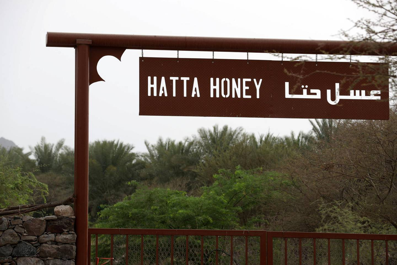 Hatta, United Arab Emirates - July 22, 2018: Hatta Honey. A neighbourhood story about Hatta. Sunday, July 22nd, 2018 in Hatta. Chris Whiteoak / The National