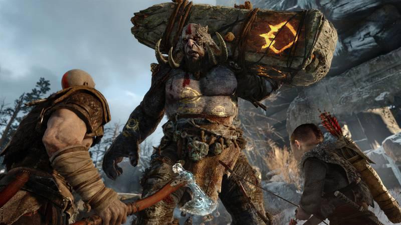 Screenshot of God of War (2018). Courtesy Sony