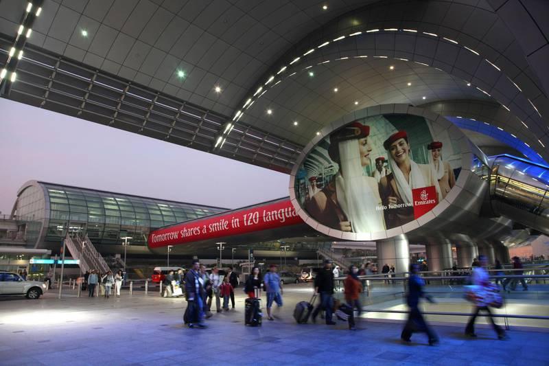 DGCYD3 Dubai Airport Terminal 3 Three UAE AVIATION
