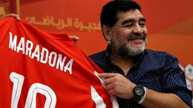 Confusion over claims Diego Maradona reinstated as Fujairah manager