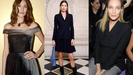 All the celebrities spotted at Paris Haute Couture Week so far