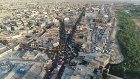 Iraqi security officers wounded as suicide bomber shot in Kirkuk
