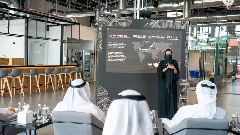 An image that illustrates this article Abu Dhabi opens coding school without teachers or classrooms