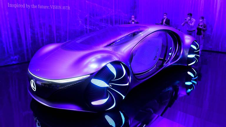 An image that illustrates this article Concept cars at Munich's International Motor Show - in pictures