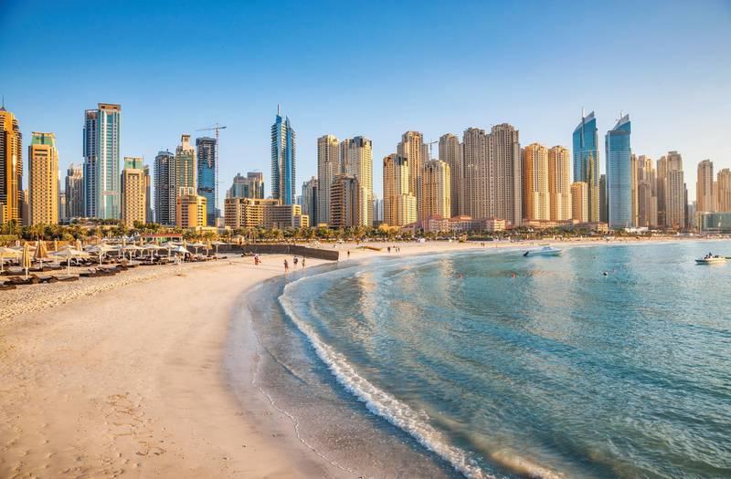 Dubai Jumeirah beach, Dubai Marina