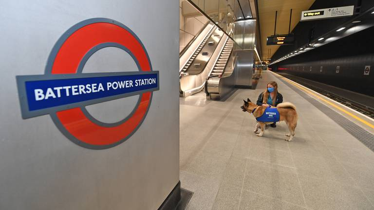 An image that illustrates this article Two new stations open on London Underground