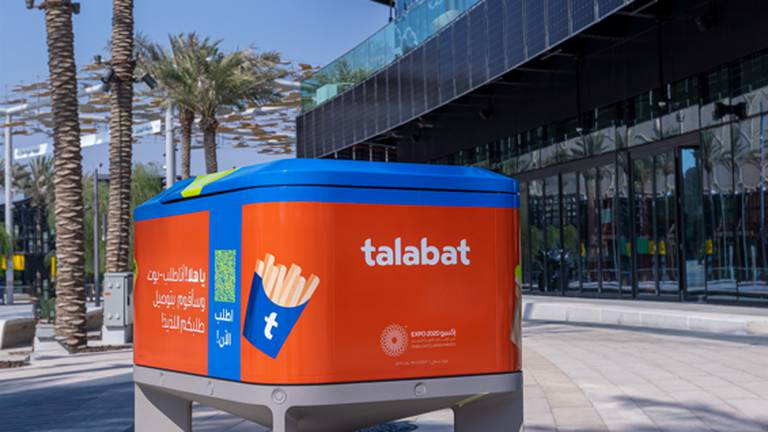 An image that illustrates this article Expo 2020: Talabat and Terminus Group to use robots to deliver food at the event