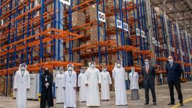 Hope Consortium: health chief tours Abu Dhabi Port's vaccine storage warehouse