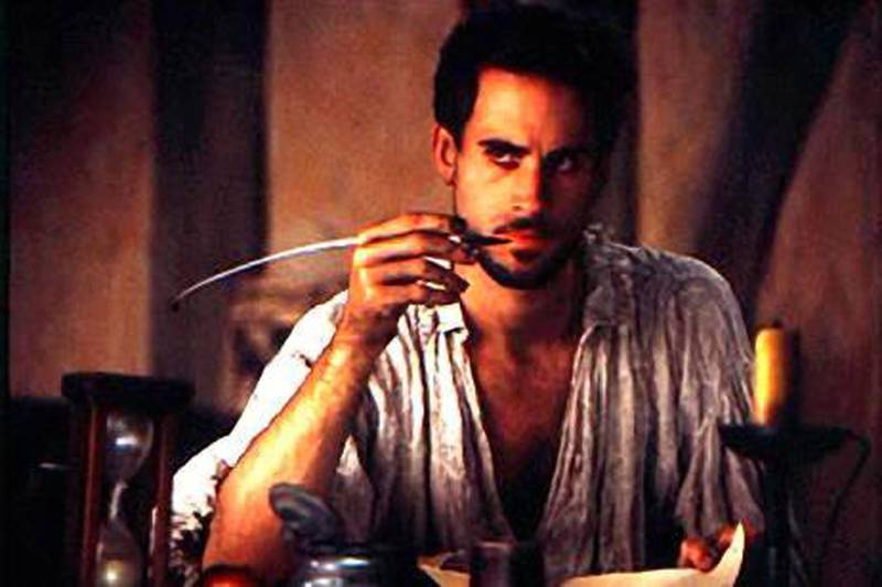 Joseph Fiennes as a young Will Shakespeare in Shakespeare In Love.  Courtesy of Miramax