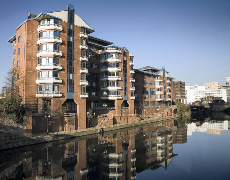 Stylish apartments in Manchester's Left Bank waterfront district