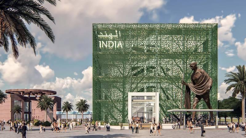INDIA PAVILION AT WORLD EXPO 2020 in DUBAI