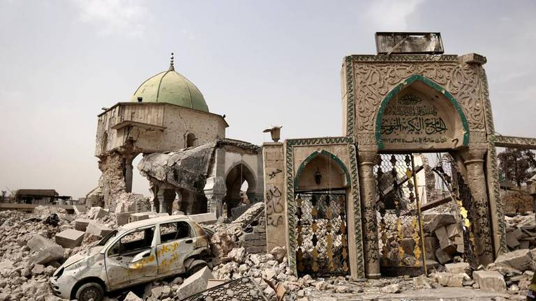 An image that illustrates this article UN hopes to start Iraq's Al Nuri Mosque reconstruction by December
