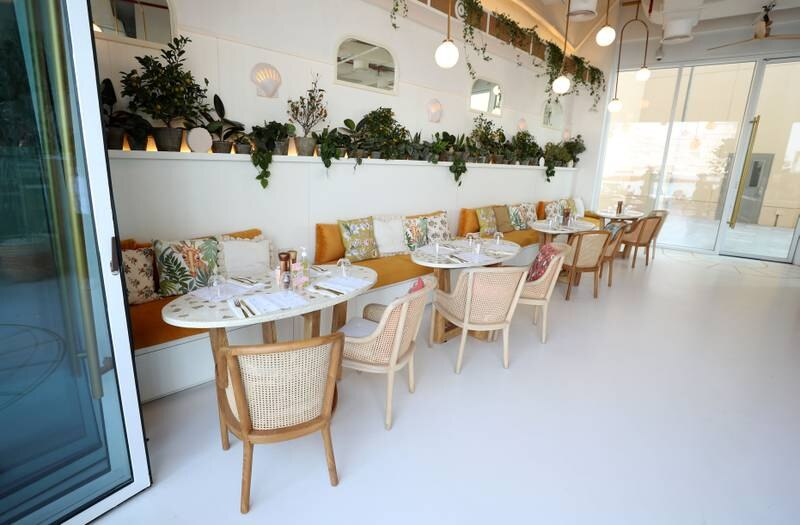 Dubai, United Arab Emirates - Reporter: Sophie Prideaux. Lifestyle. Food. Restaurant feature. Eat your way around The Pointe, The Palm. Brunch & Cake. Monday, January 18th, 2021. Dubai. Chris Whiteoak / The National