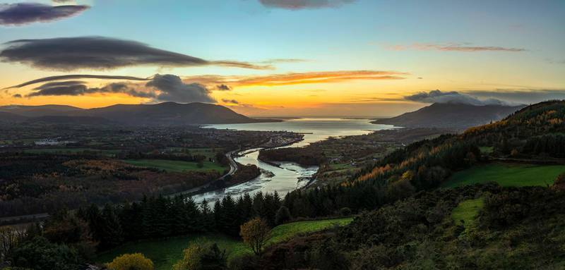 Sunrise Over Carlingford Lough - Getty Images