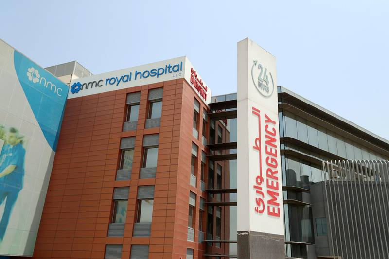 Dubai, United Arab Emirates - Reporter: Nick Webster. News. Covid-19/Coronavirus. Check on PCR testing at clinic now people need tests to travel at NMC Royal Hospital in Dubai Investments Park. Saturday, July 4th, 2020. Dubai. Chris Whiteoak / The National