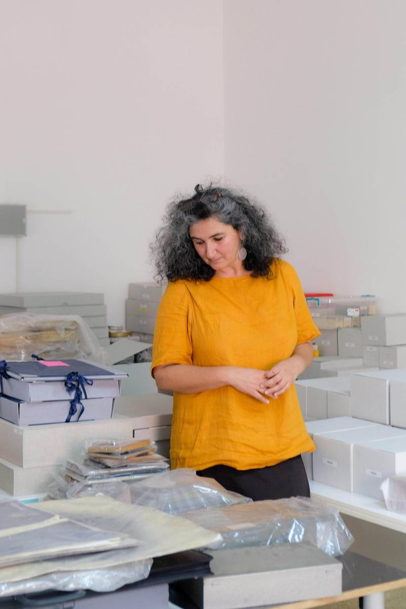 Arab Image Foundation new director Heba Hage-Felder. Photo: AIF/Charbel AlKhoury