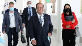 Francois Hollande 'not so optimistic' about Cop26 global climate conference