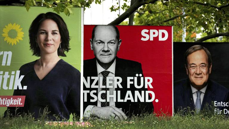 An image that illustrates this article 'Brand Merkel' overshadows Germany election