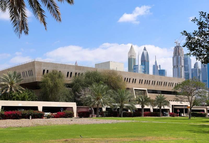 Dubai, United Arab Emirates - Reporter: N/A: The Dubai Petroleum building. Wednesday, March 4th, 2020. Dubai. Chris Whiteoak / The National