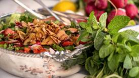 Ramadan recipe: Fattoush, a salad with herbs and spice