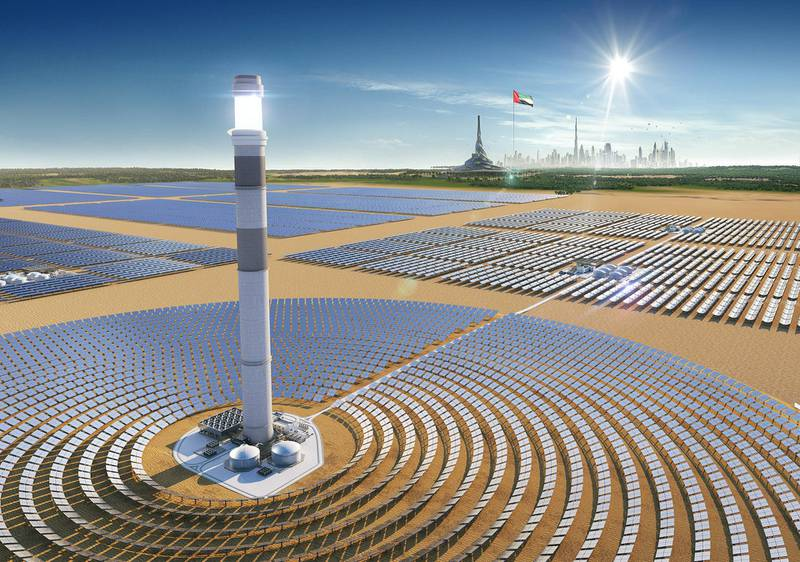 Noor Energy 1, MBR Solar Park Phase IV, is among the milestone projects being showcased by ACWA Power at WETEX 2020