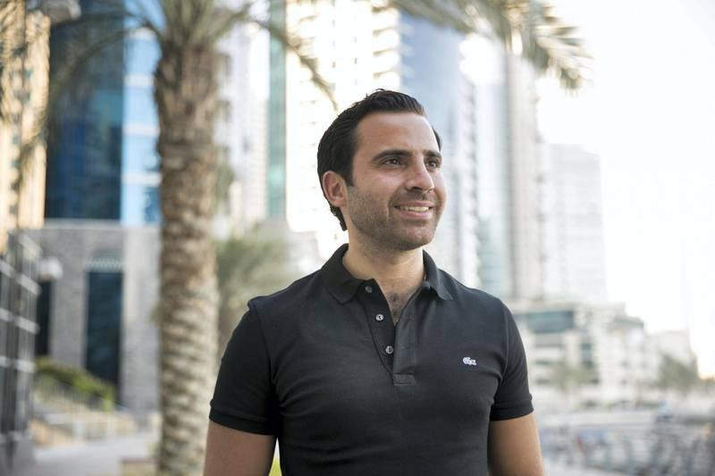 DUBAI, UNITED ARAB EMIRATES - SEP 25:Philip Bahoshy, Founder of Magnitt.(Photo by Reem Mohammed/The National)Reporter: Alice HaineSection: BZ