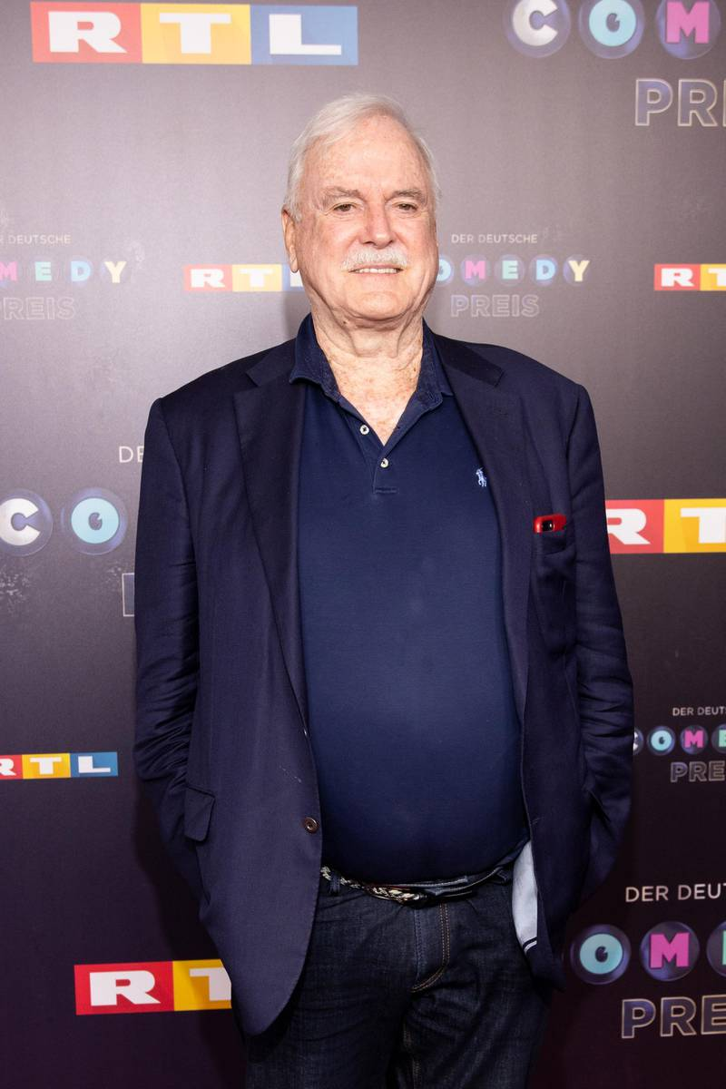 COLOGNE, GERMANY - OCTOBER 02: John Cleese attends the 23rd annual German Comedy Awards at Studio in Köln Mühlheim on October 02, 2019 in Cologne, Germany.  (Photo by Joshua Sammer/Getty Images)