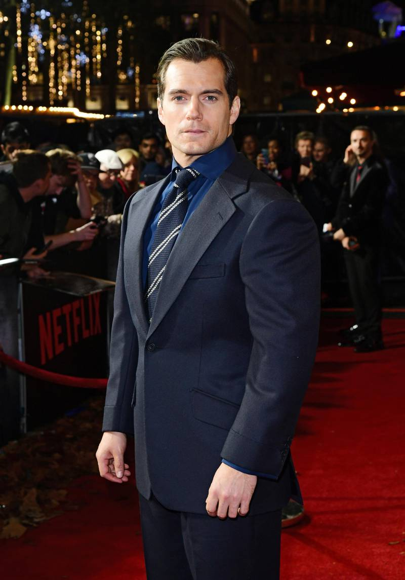 Henry Cavill attending the world premiere of Netflix's The Witcher, held at the Vue Leicester Square in London. (Photo by Ian West/PA Images via Getty Images)