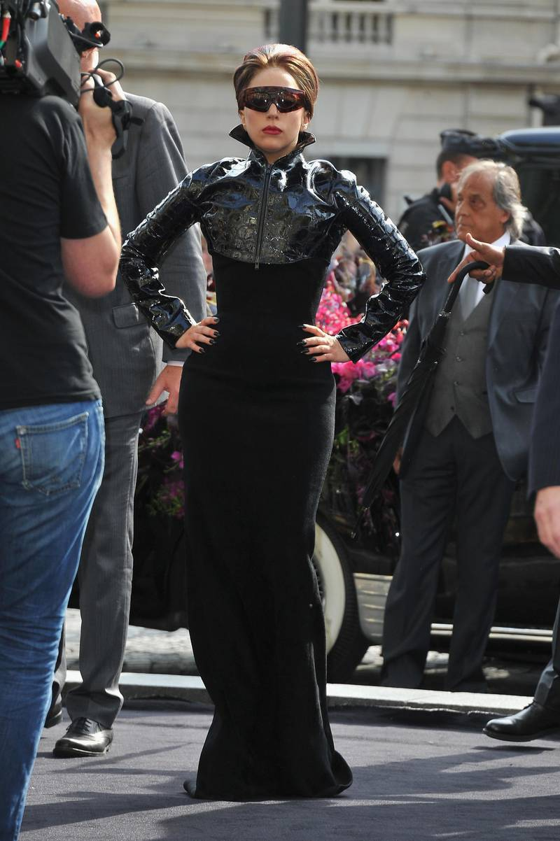PARIS, FRANCE - SEPTEMBER 23:  Lady Gaga  attends 'Fame' Eau De Parfum Launch at Sephora Champs-Elysees on September 23, 2012 in Paris, France.  (Photo by Pascal Le Segretain/Getty Images for Sephora)