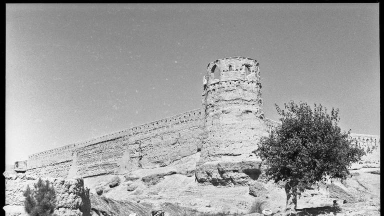 An image that illustrates this article Afghanistan antiquities suffering under Taliban rule as Gereshk fort damaged
