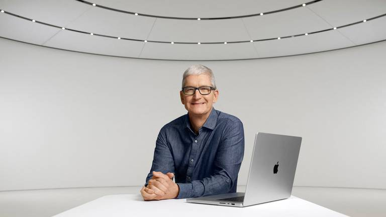 An image that illustrates this article Apple unveils new products - in pictures
