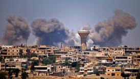 UN warns of civilian suffering in 'besieged' southern Syrian city