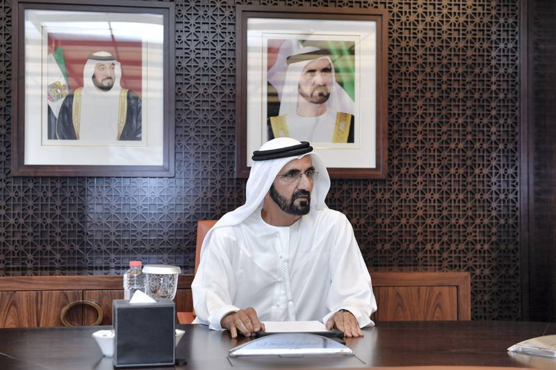 DUBAI, 19th November, 2017 (WAM) -- The Vice President, Prime Minister and Ruler of Dubai, His Highness Sheikh Mohammed bin Rashid Al Maktoum, has stated that achieving the well-being and happiness of the UAE's people is a top priority.His Highness' remarks came during a Dubai Executive Council meeting held today, with H.H. Sheikh Hamdan bin Mohammed bin Rashid Al Maktoum, Crown Prince of Dubai and Chairman of Dubai Executive Council, and H.H. Sheikh Maktoum bin Mohammed bin Rashid Al Maktoum, Deputy Ruler of Dubai, in attendance. WAM