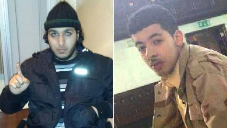 An image that illustrates this article Terrorist tells victims' families he did not mentor Manchester bomber