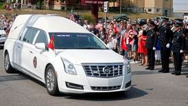 US marine's body returned to Indiana home town from Afghanistan