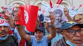 Tunisians take to the streets in support of Kais Saied