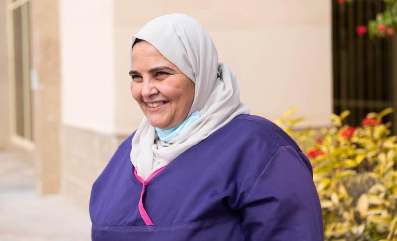Zainab Fahim a nurse in the UAE. Courtesy: Zainab Fahim