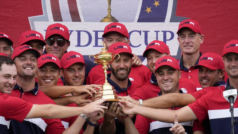 An image that illustrates this article United States dominate to win Ryder Cup and usher in 'new era'