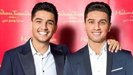 Mohammed Assaf meets Madame Tussauds wax counterpart at Ain Dubai