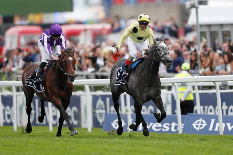 Horse Racing - Derby Festival - Epsom Downs Racecourse, Epsom, Britain - May 31, 2019   Defoe ridden by Andrea Atzeni wins the 3.10 Investec Coronation Cup ahead of Kew Gardens ridden by Ryan Moore   Action Images via Reuters/Matthew Childs