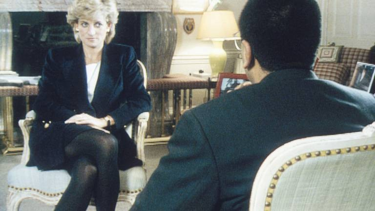 An image that illustrates this article British police rule out new probe into Diana interview