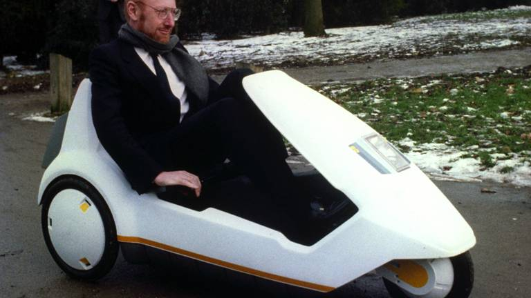 An image that illustrates this article Home computer pioneer Sir Clive Sinclair dies aged 81