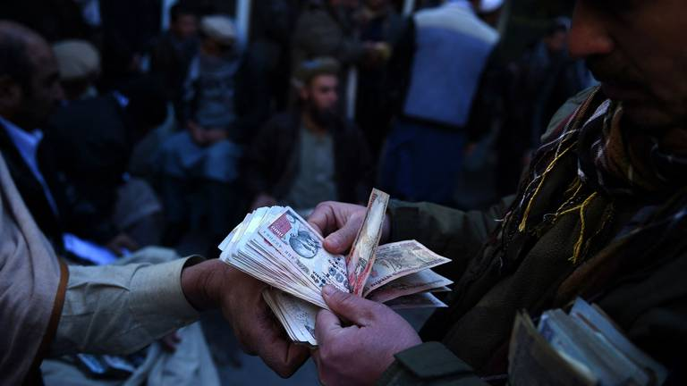 An image that illustrates this article With the Taliban in power, what's next for Afghanistan's struggling economy?