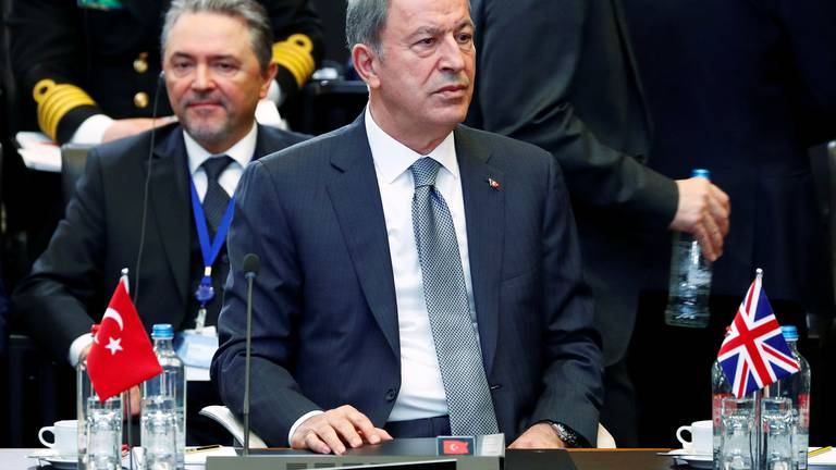 An image that illustrates this article Turkey warns that France-Greece defence pact weakens Nato