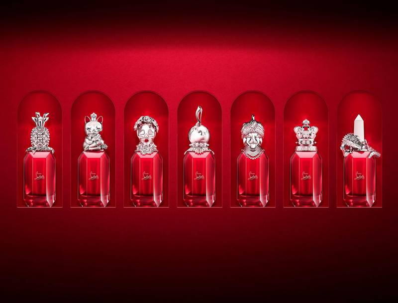 FAMILY STILL LIFE - Red plexi background 2
