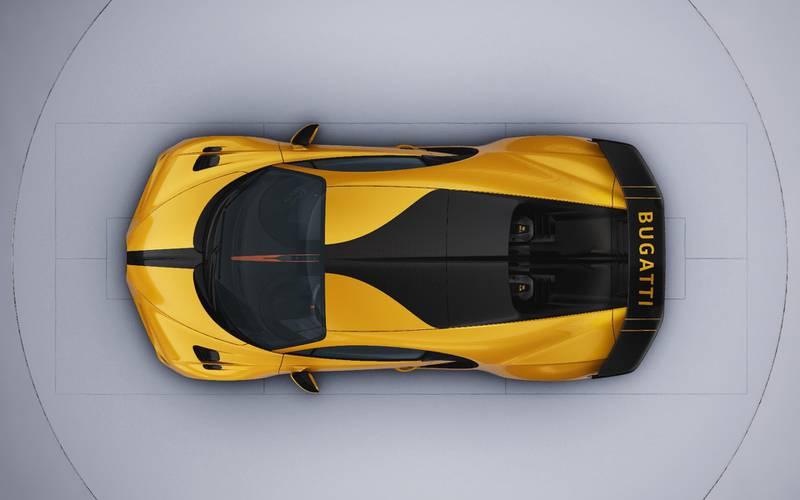 Rendering of my bespoke Bugatti Chiron Pur Sport. Courtesy Bugatti